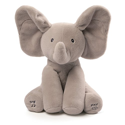 Gund Baby Animated Flappy The Elephant Plush (Elephant Baby Toy)