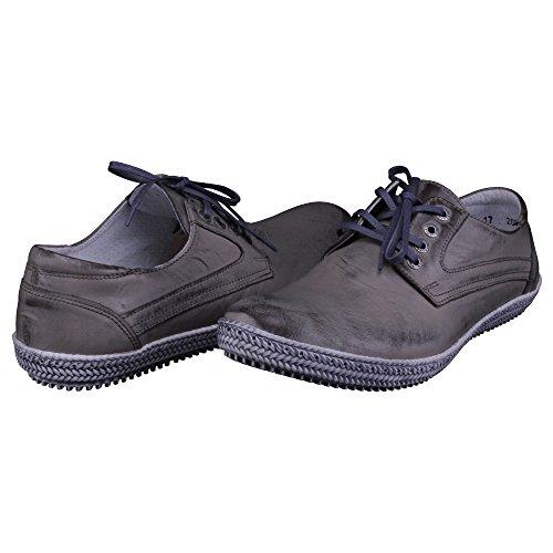 Homme À Chaussures Pour De Gris Ville Kristofer Lacets A6wagaq