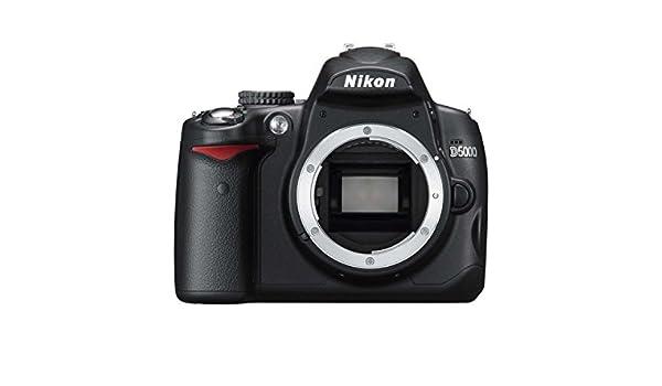 Nikon D5000 - Cámara Réflex Digital 12.3 MP (Cuerpo ...