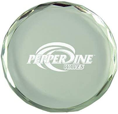 Inc Pepperdine University-Crystal Paper Weight LXG