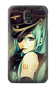 S1156 Vocaloid Sexy Hatsune Miku Police Case Cover For Samsung Galaxy S5