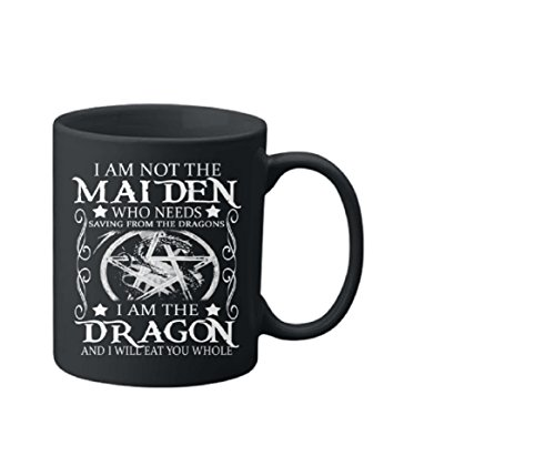 Maiden Coffee (Maiden-Dragon Mugs, Christmas Gift For Men From Her, Funny For Coffee Mug)