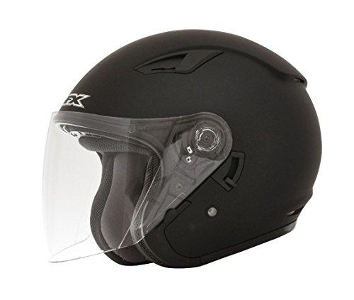 AFX FX-46 Solid Helmet (Flat Black, XX-Large) (Afx Fx 20 Helmets)