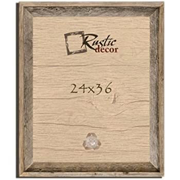 Amazon.com - 24x36 Picture Frames Signature Barnwood Reclaimed Open ...