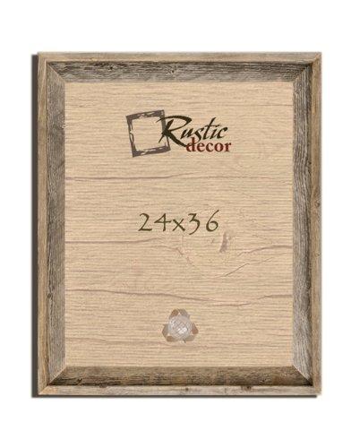 Amazoncom 24x36 2 Wide Signature Reclaimed Rustic Barnwood