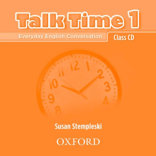 Download Pdf Talk Time 1 Class Cds Everyday English Conversation