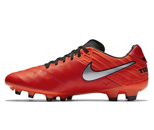 Nike Tiempo Mystic V FG Soccer Football Shoes Light Crimson/Total Crimson-Metallic Silver New 819236-608 - 7