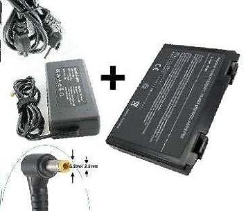 Batería y cargador para ordenador portátil ASUS X70IO E-force® Series-Port 0 Euro.-Batería y cargador: Amazon.es: Informática