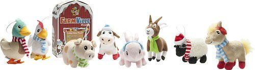 FarmVille Zynga Winter Series Collectible Plush Mystery Pack