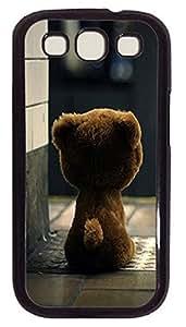 design Samsung S3 case Bear PC Black cover custom Samsung S3