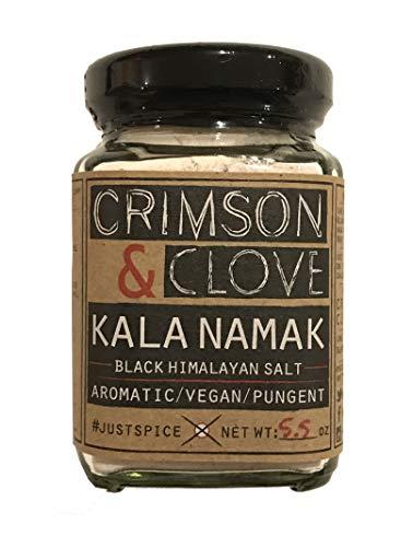 - Kala Namak (Black Himalayan Salt) by Crimson and Clove (5.5 oz.)