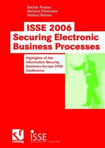 Download ISSE 2006 Securing Electronic Business Processes Pdf