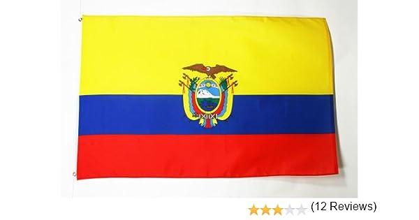 AZ FLAG Bandera de Ecuador 150x90cm - Bandera ECUATORIANA 90 x 150 ...