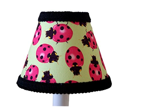 Silly Bear Lighting Lady Bug Madness Chandelier Shade, Green ()