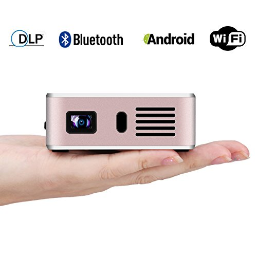 Exquizon E05 Video Projector Pocket Airplay Miracast Portabl