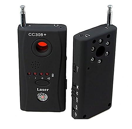 Amazon.com: Soondar® CC308+ Multi-Detector Full-Range All-Round Detector For Hidden Camera / IP Lens/ GMS BUG / RF Signal Detector Finder / To monitor the ...