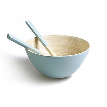 Review Bamboo Salad Bowl Set