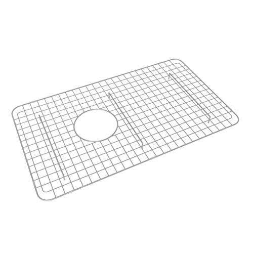 Rohl WSG6307SS 26-1/4-Inch by 15-1/4-Inch Wire Sink Grid for 6307 Kitchen Sinks in Stainless Steel