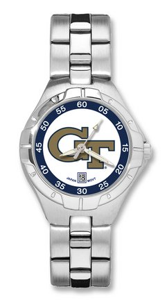 Georgia Tech Yellow Jackets NCAA Pro Ii Ladies Bracelet Watch