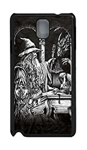 Samsung Galaxy Note 3 N9000 Cases & Covers Wizard and Dragon Custom PC Hard Case Cover for Samsung Galaxy Note 3 N9000 Black