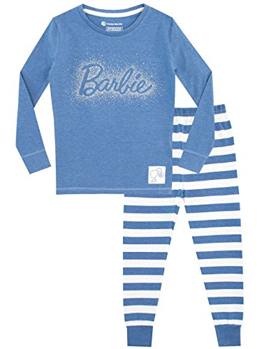 Barbie Girls' Pajamas Size 7 Blue
