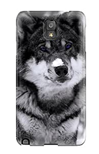 Adam L. Nguyen's Shop Top Quality Protection Mysterious Wolf Case Cover For Galaxy Note 3 1017713K69394220
