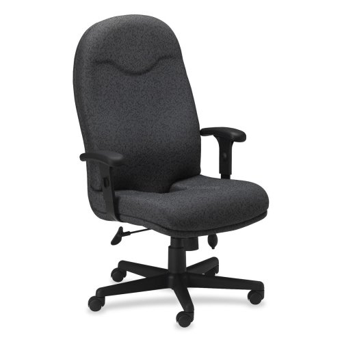 (Mayline Comfort Series Executive High-Back Chair-Exec. High-Back Chair,Adjust Arms,27