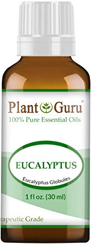 Eucalyptus Essential Oil 1 oz / 30 ml 100% Pure Undiluted Therapeutic Grade for Aromatherapy Diffuser, Sinus Relief, Allergies, Cold and Flu, Cough, Nasal and Chest Congestion