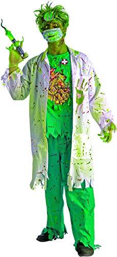 Mad Surgeon Halloween Costume (Forum Novelties Men's Biohazard Zombie Surgeon Costume, Multi,)