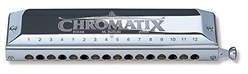Suzuki SCX-64C Chromatix Series Harmonica Key of C, 64 Reeds, 16 Holes by Suzuki