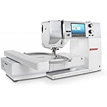 BERNINA 560 E Sewing and Embroidery Machine Includes Embroidery Module, Slide-on Table, Accessories Box, Touchscreen, Machine and Module Carrying Bag, 20 Year Limited Warranty, & More!