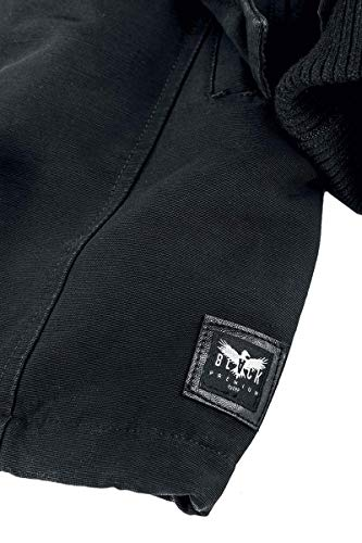 Black Noir Parka By Veste Emp D'hiver Premium pBwr6qp