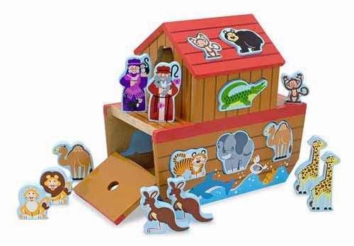 Melissa And Doug Noahs Ark - Melissa & Doug Noah's Ark Shape Sorter