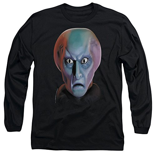 Star Trek Balok Head Unisex Adult Long-Sleeve T Shirt for Men and Women, Medium ()