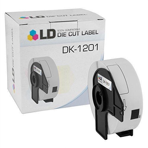 LD © Compatible Brother DK-1201 Address Labels / 1.1 in x 3.5 in