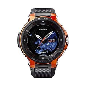 Casio Pro Trek Touchscreen Outdoor Smart Watch Resin Strap
