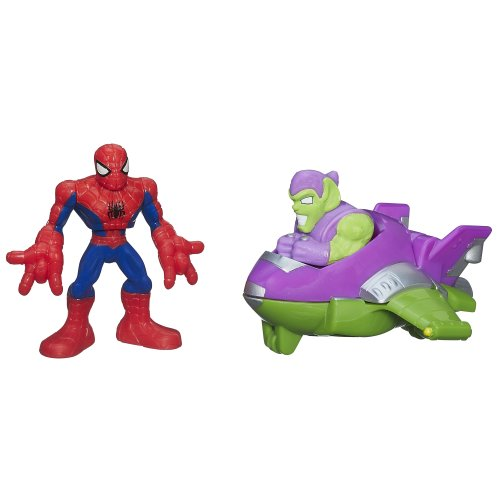 Marvel Super Hero Adventures Spider-Man Jumper Pack Masters of KAPOW! (Kapow Toys)