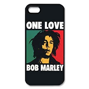 Bob Marley Quotes Durable Plastic Case Cover for iPhone 5 or iPhonr 5S