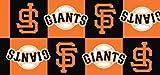 MLB San Francisco Giants Baseball Boxes Team Sports Print Fleece Fabric
