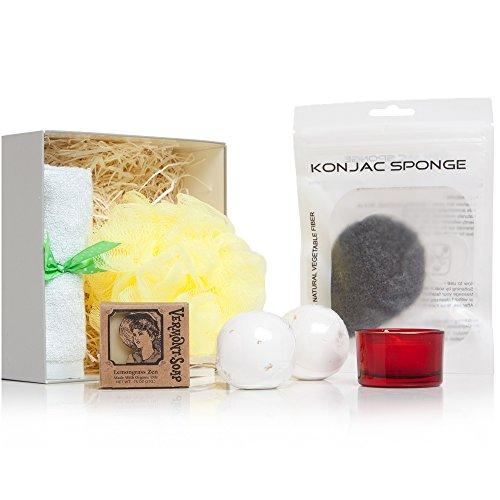 alemsa life Organic Bath, Body And Beauty Aromatherapy Home Spa Product Gift Box Set