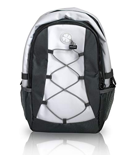 ParGear Insulated Soft Backpack Cooler - Backpack for Golfers - Cooler for Hiking Soccer Volleyball - Lacrosse - Backpack for Outdoor Sporting Events - 1 Small White Backpack for Women Men