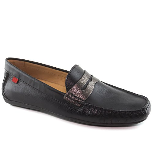 Leather Loafer York Union Black Style Metallic Joseph New Marc Street Driving Napa Driver Men's nwTIvXXEx