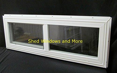 Double Pane Horizontal 36'x12' Window Vinyl Moble Homes Tiny Houses Playhouses