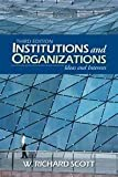 Institutions and Organizations 9780803956520