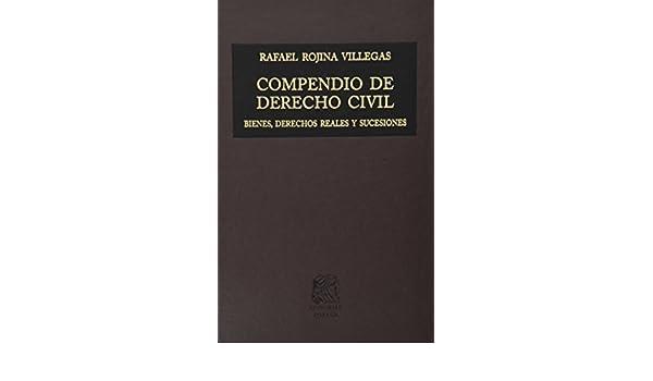 Compendio De Derecho Civil Tomo 1 Rojina Villegas Ebook