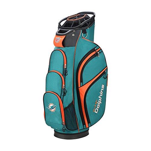 Wilson 2018 NFL Golf Cart Bag, Miami ()