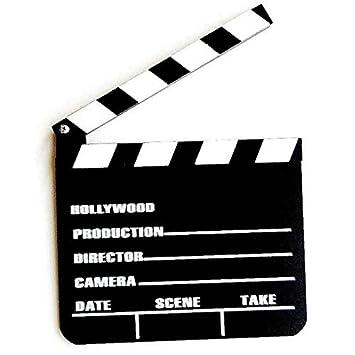Q&J claqueta de Cinema Pizarra de Madera de Scene película ...
