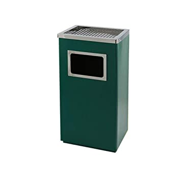Amazon.com: XUROM Trash Can Stainless Steel Rectangular with ...
