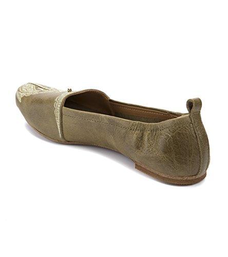 Latigo Bonzai Womens Flats & Oxfords Olive
