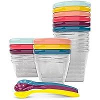 Babymoov Babybols - Pack de 6 contenedores de conservación